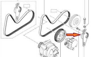 Замена ремня генератора на ларгусе