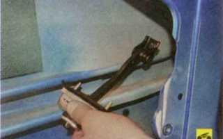 Форд фокус замена двери