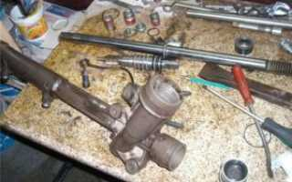 Рулевая рейка q7 замена реставрация спб