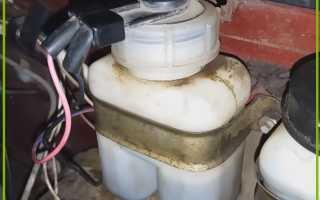 Бачок тормозной жидкочти ваз 2107