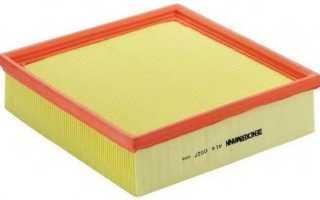 Ваз1118 замена воздушного фильтра