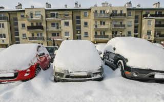 Как ездить в мороз