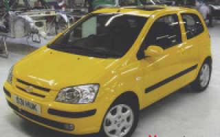 Автомобиль хендай гетц технические характеристики
