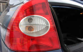 Замена заднего фонаря на форд фокус 2