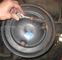 Замена воздушного фильтра ваз 2106
