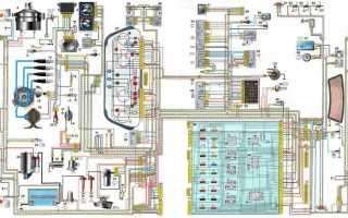 Электросхема подключения электробензонасоса ваз 2110