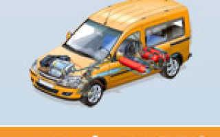 Как зарегистрировать газовый баллон на автомобиле она стоит