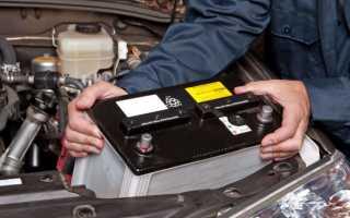 Замена электролита в аккумуляторной батареи