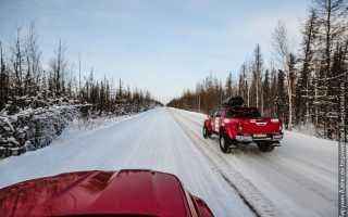 Как доехать с красноярскачерез зимник до мирного якутия