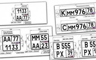 Грядут перемены: росстандарт утвердил новый гост на номерные знаки