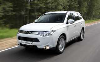 Mitsubishi отзывает в россии 21 тысячу автомобилей outlander