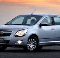 Chevrolet cobalt отзывы